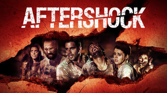 Netflix box art for Aftershock